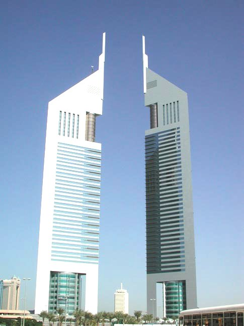 The Twin Tower at Sheikh Zayed Road